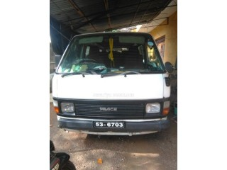 Toyota hiace shell 61 for sale